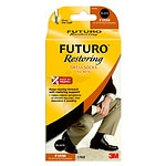 FUTURO Restoring Dress Socks for Men, Firm, Black, Large- 1 pr