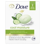 Dove go fresh Beauty Bar, Cool Moisture- 4 oz