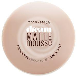 Maybelline Dream Matte Mousse Foundation, Medium Beige, .64 oz