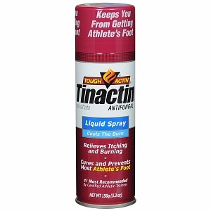 Tinactin Antifungal Aerosol Liquid Spray, Value Size