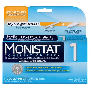 Monistat 1 1-Day Treatment Day or Night Combination- 1 pack
