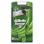 Gillette Sensor 3, Disposable Razor, Conditioning Shave