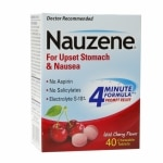 Nauzene Chewable Tablets for Nausea, Wild Cherry