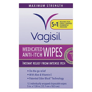 Vagisil Medicated Wipes