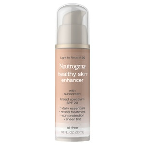 Neutrogena Healthy Skin Enhancer Tinted Moisturizer, Light to Neutral 30&nbsp;