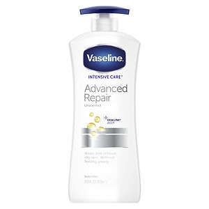 Vaseline Intensive Care Advanced Repair Lotion, Fragrance Free