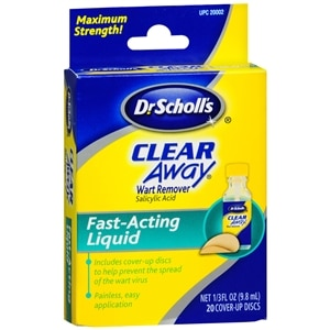 Dr. Scholl's Clear Away Liquid Wart Remover System- .33 fl oz