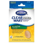 Dr. Scholl's Clear Away Plantar, Salicylic Acid Wart Remover for Feet- 24 ea