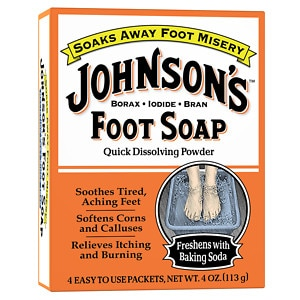 Johnson's Foot Soap Foot Soap, Packets
