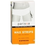 Parissa Quick & Easy Wax Strips, Face & Bikini