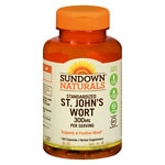 Sundown Naturals St. John's Wort, 300mg, Capsules
