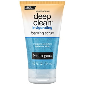 Neutrogena Deep Clean Invigorating Foaming Scrub- 4.2 fl oz