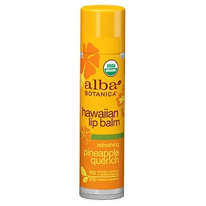 Alba Botanica Hawaiian Lip Balm, Pineapple Quench- .15 oz