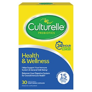 Culturelle Probiotic Health &amp; Wellness, Capsules, 30 ea