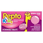 Pepto-Bismol Children's, Chewable Tablets, Bubble Gum