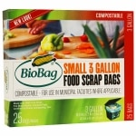 BioBag Food Waste Bio Bags, 3 Gallon
