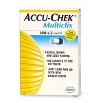 Accu-Chek Multiclix 100+2 Lancets