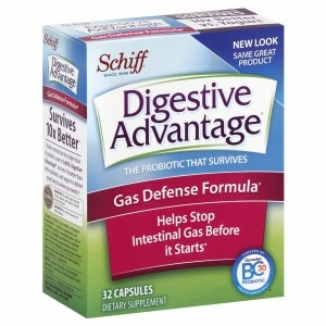 Schiff Digestive Advantage Gas Defense Formula, Capsules