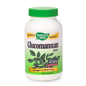 Nature's Way Glucomannan Root Vegetarian Vcaps