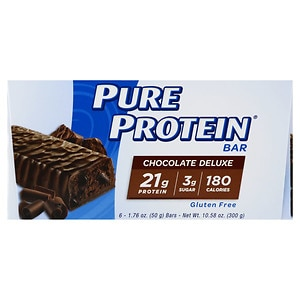 Pure Protein Snack Bar, 6 pk, Chocolate Deluxe
