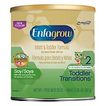 Enfagrow Toddler Transitions Powder Soy Stage 2- 20 oz
