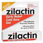 Zilactin Cold Sore Relief Gel- .25 oz