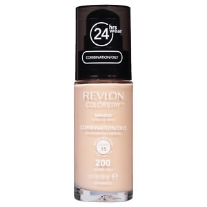 Revlon Colorstay for Combo/Oily Skin Makeup with SPF 6, Nude 200