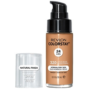 Revlon Colorstay for Normal/Dry Skin Makeup with SoftFlex, True Beige 320
