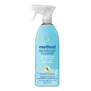 method Bathroom Cleaner, Eucalyptus Mint- 28 fl oz
