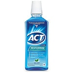 ACT Restoring Mouthwash Anticavity, Cool Splash Mint