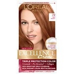 L'Oreal Paris Excellence Creme Triple Protection Color Creme Permanent Haircolor, Red Penny 7R- 1 ea