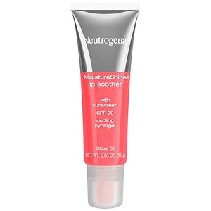 Neutrogena MoistureShine Lip Soother with SPF 20, Glaze