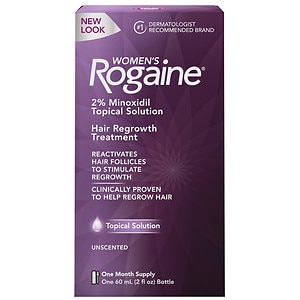 Women's Rogaine Hair Regrowth Treatment, 1 Month Supply