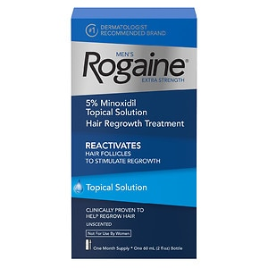 Men's Rogaine Extra Strength Hair Regrowth Treatment, 1 Month Supply- 1 ea