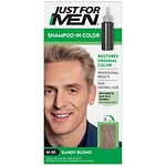 Just For Men Shampoo-In Haircolor, Sandy Blond H-10- 1 ea
