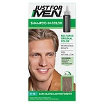 Just For Men Shampoo-In Haircolor, Dark Blond / Lightest Brown