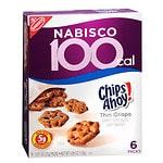 Nabisco Chips Ahoy! Thin Crisps 100 Calorie Packs, 6 pk- .81 oz