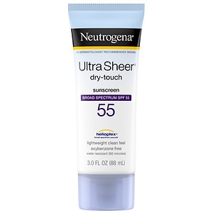 Neutrogena, Neutrogena sunscreen, Neutrogena Ultra Sheer Dry Touch Sunblock SPF 55, Neutrogena sunblock, sunblock, sunscreen, skin, skincare, skin care, Neutrogena skincare, Neutrogena skin care