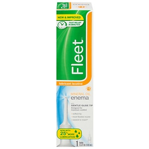 Fleet Mineral Oil Enema, Latex Free- 4.5 fl oz
