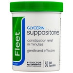 Fleet Glycerin Suppositories