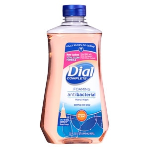 Dial Complete Foaming Antibacterial Hand Wash Refill, Original Scent