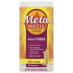 Metamucil Coarse Sugar, 114 Teaspoons, Original- 29 oz
