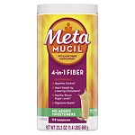 Metamucil Smooth Sugar Free Powder, 114 Teaspoons, Original- 23.3 oz