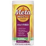 Metamucil Smooth Sugar Free Powder, 114 Teaspoons, Original- 23.3 oz