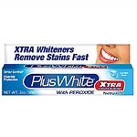 Plus White Toothpaste, Xtra Whitening with Peroxide, Clean MInt
