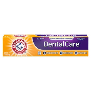 Arm & Hammer Dental Care Advance Cleaning Daily Fluoride Toothpaste with Baking Soda, Fresh Mint