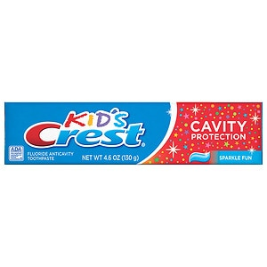 Crest Kids Cavity Protection Toothpaste, Sparkle Fun Flavor