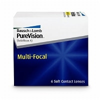 PureVision Multi-Focal Contact Lens- 6 lenses per Box
