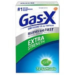 Gas-X Extra Strength Antigas, Softgel- 72 ea