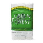 Green Forest Unscented Bathroom Tissue